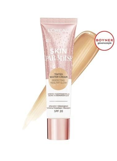 L'Oréal Paris L'Oréal Paris Skin Paradise Su Bazlı Renkli Nemlendirici 02 Light Renksiz